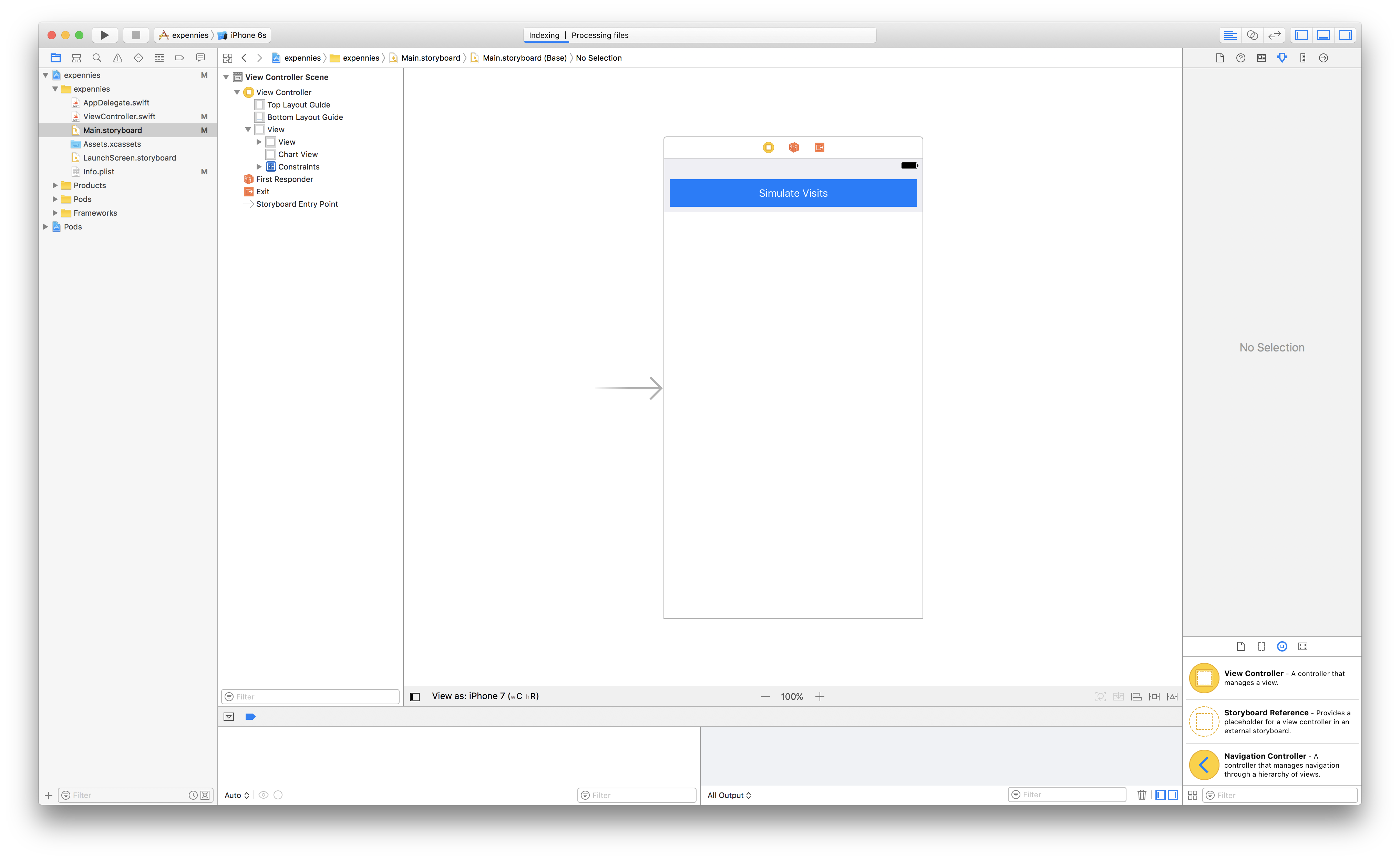 Build A Realtime Chart In Swift Logic Pro X Diagram As It Currently Stands The Views Do Nothing Let Us Connect Some Functionality To Ios Application View