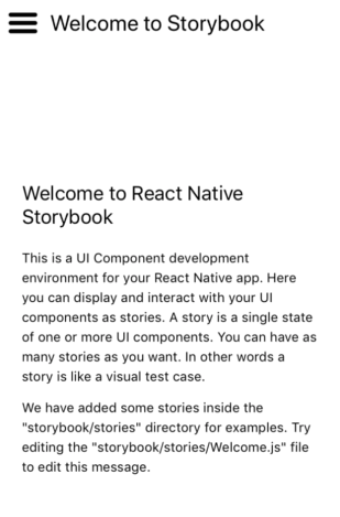 react-native-storybook-welcome