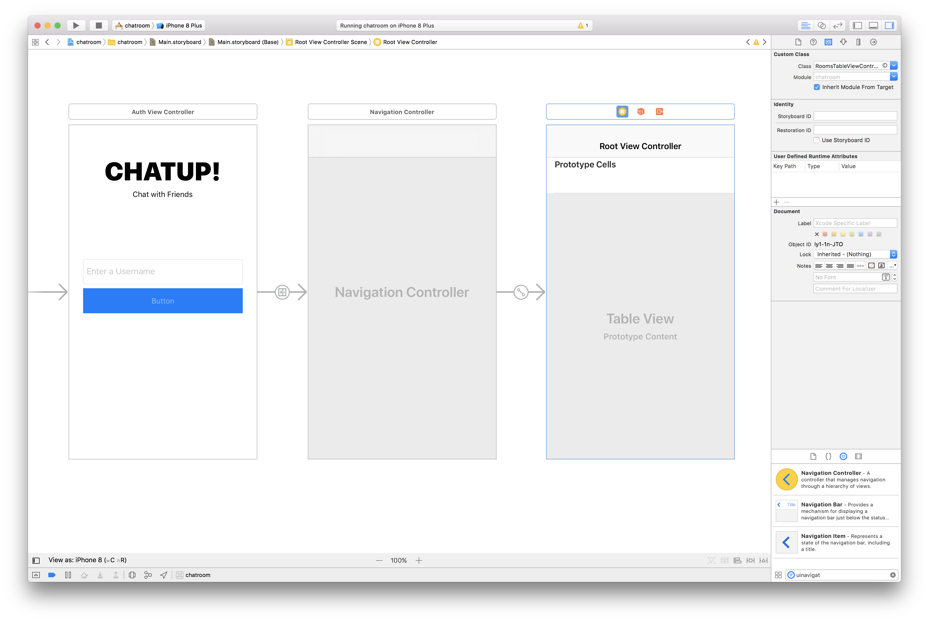 Build an iOS chat app with Raw Tableview