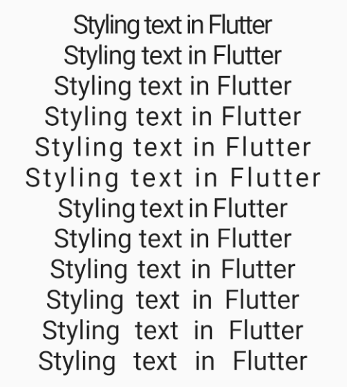 Mastering styled text in Flutter