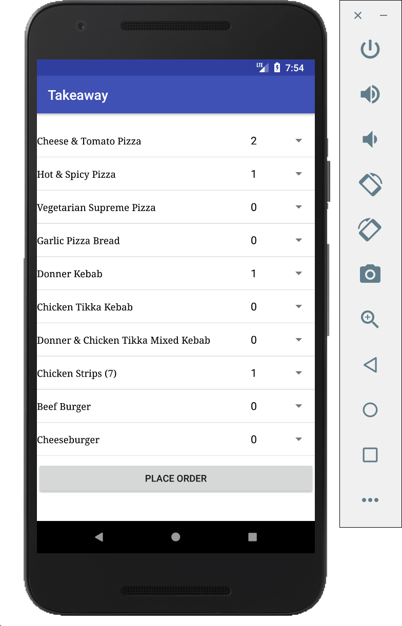 Use push notifications to build a food delivery app
