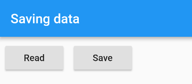 How to save data locally in Flutter