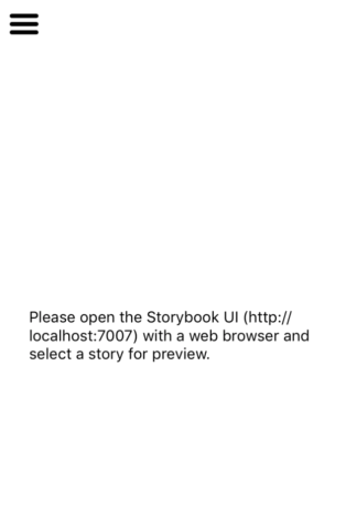 react-native-storybook-no-stories