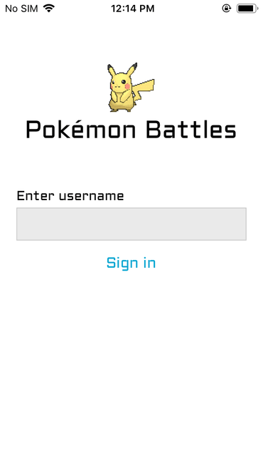 Create a Pokemon battle game with React Native - Part 1