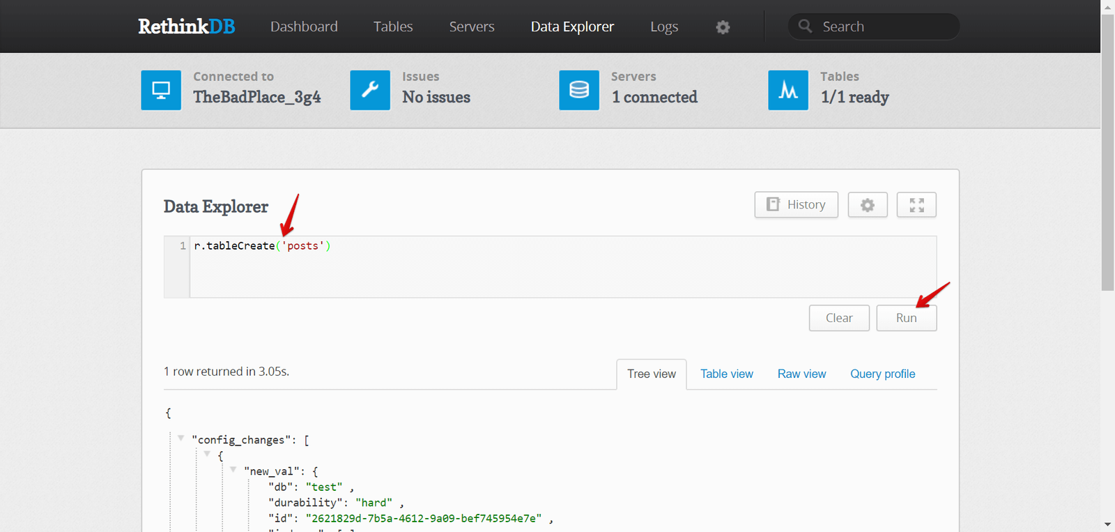 How to build a realtime application with Node.js and RethinkDB