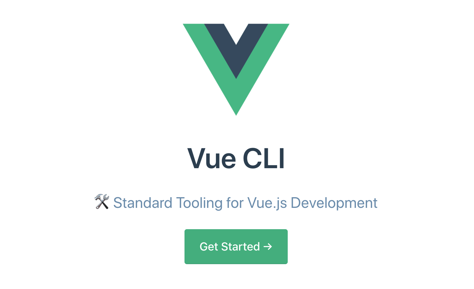 New features in Vue CLI 3 0