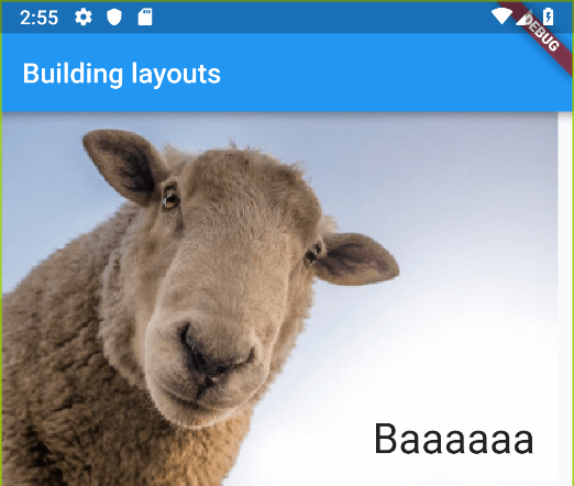 First steps with Flutter: Building layouts