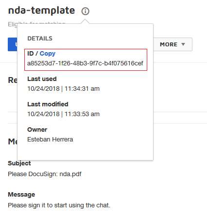 Integrating e-signatures in chat apps with DocuSign