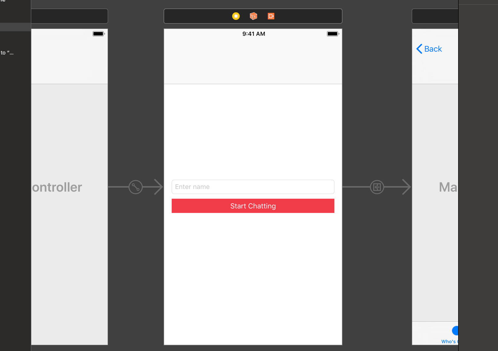 Creating an iOS app with user presence
