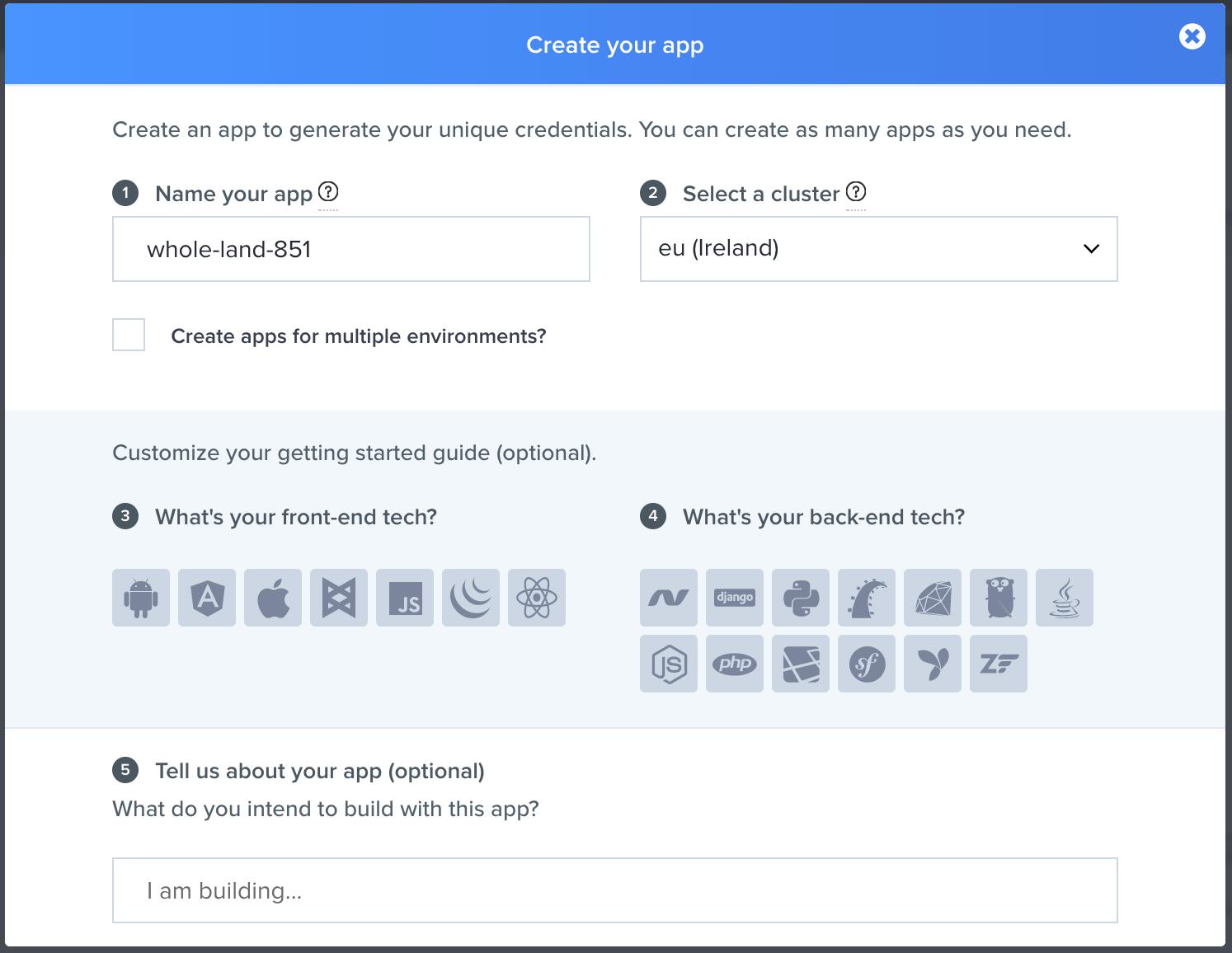Build a trade platform using JavaScript