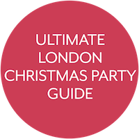 Ultimate london christmas party guide sticker