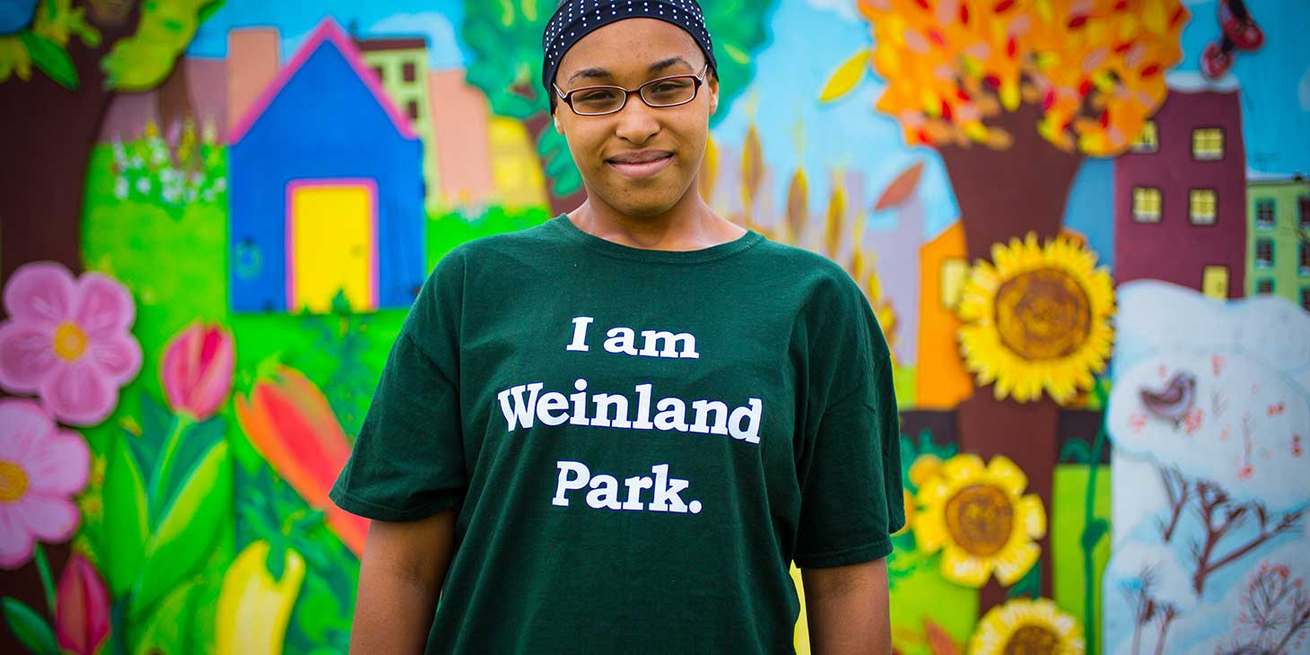 ELM collaborated with Annie E. Casey Foundation to tell the powerful stories of the people of Weinland Park, a community in transition. Telling the stories of real people in the neighborhood gave impact to the campaign. (Photo: Darren Durlach)