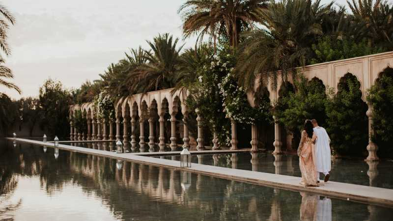 Chic and unique: a destination wedding in Marrakech