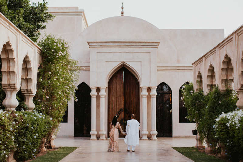 Top wedding venues in Marrakech, Morocco