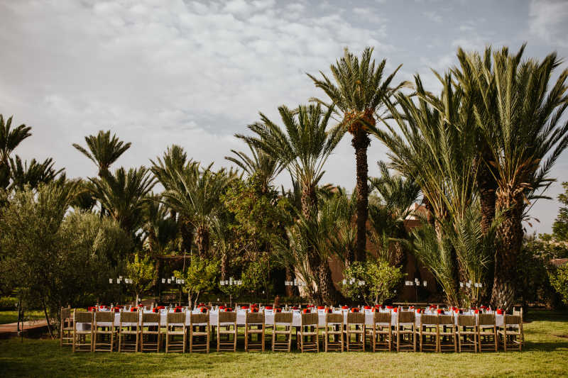 How to choose the perfect menu for your wedding in Morocco, Marrakech