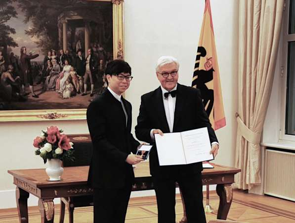 Maestro Kahchun Wong Awarded German Order of Merit