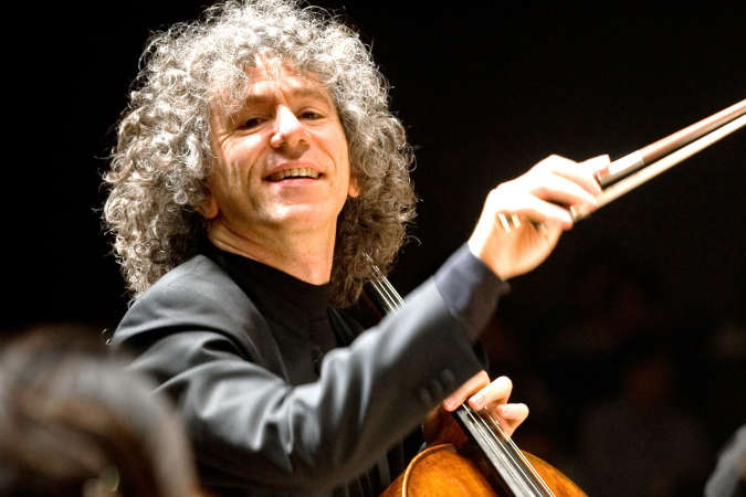 Columbia Artists Welcomes Cellist Steven Isserlis