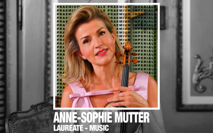 Anne-Sophie Mutter Awarded Praemium Imperiale Prize