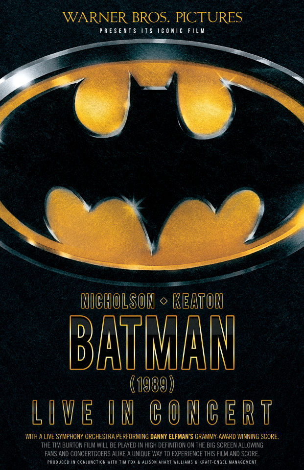 Batman | Warner Bros. Pictures Presents: Batman (1989) Live in Concert