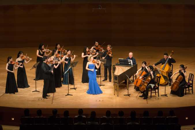 Anne-Sophie Mutter and  Mutter's Virtuosi Tour South America