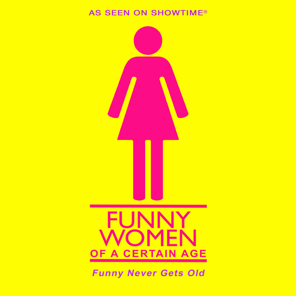 Funny Women Of A Certain Age Logo