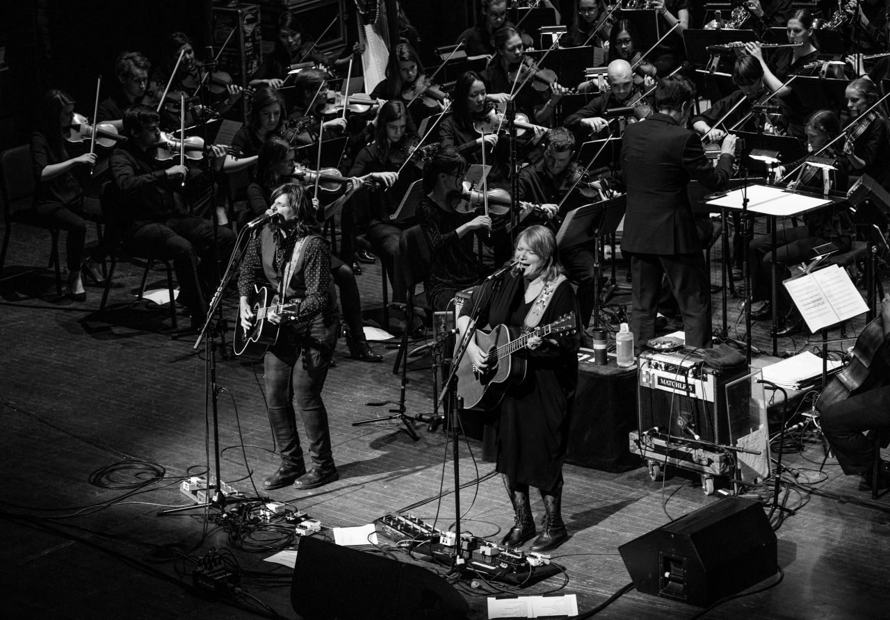 Indigo Girls | Live Orchestral Recording and Performance, Photo Credit: Evan Carter