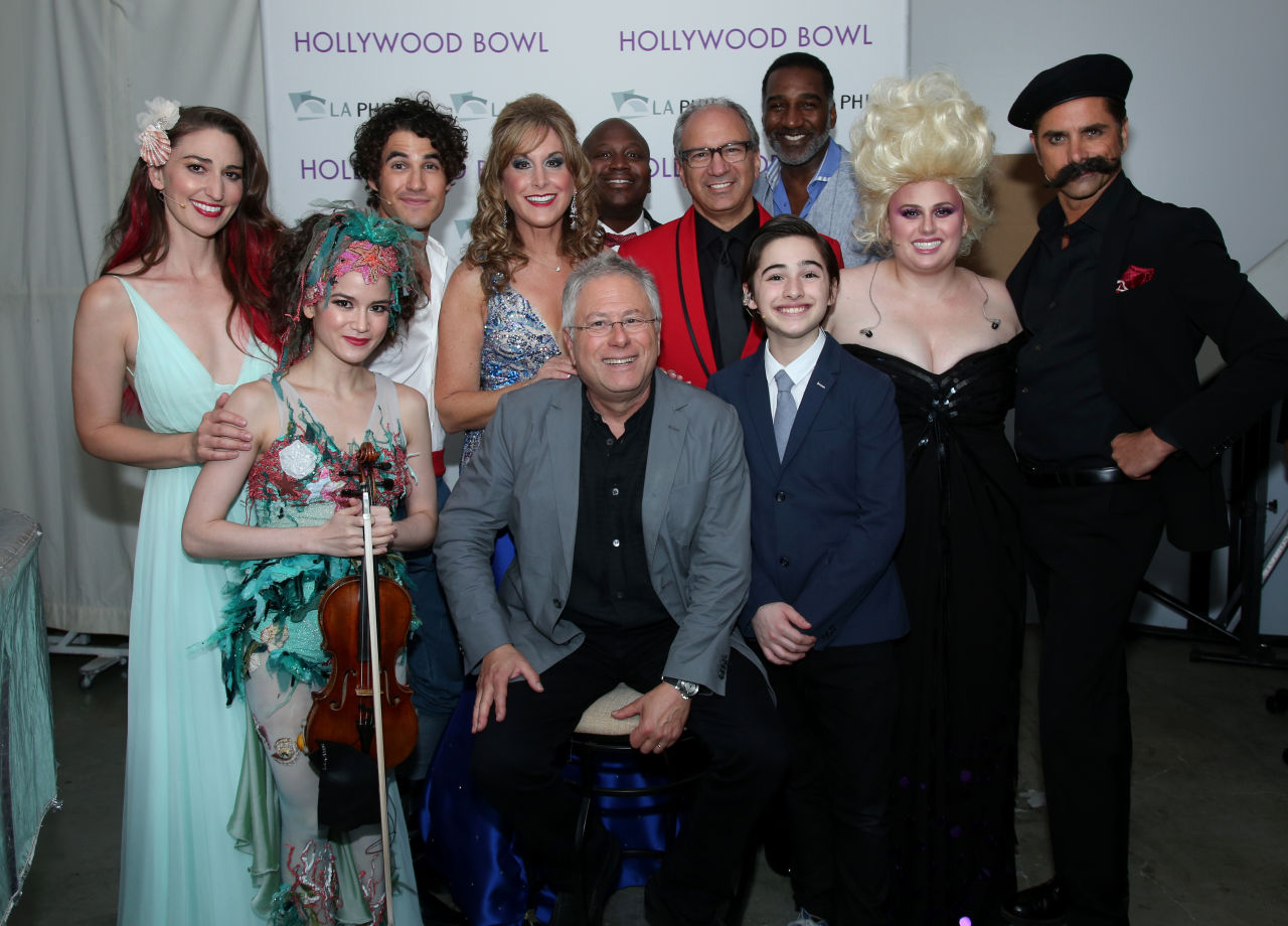 Cast of Disney in Concert: The Little Mermaid | Hollywood Bowl 2016, Photo Credit: Randall Michaelson