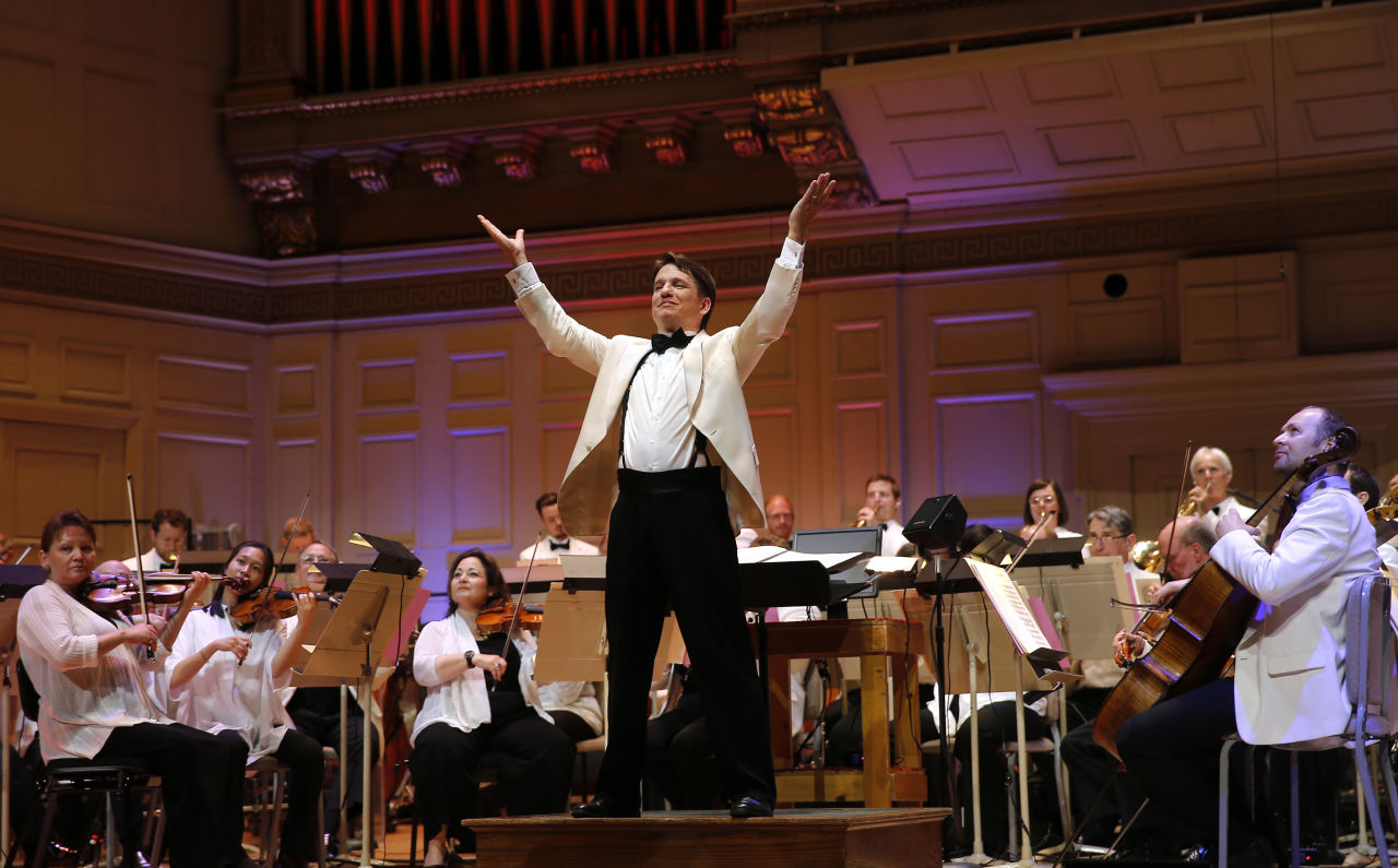 Keith Lockhart | Photo credit: Winslow Townson