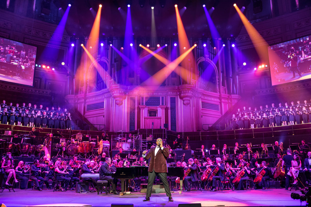 Disney's Broadway Hits | Featuring Stars Live in Concert: Trevor Dion Nicholas, Photo Credit: Manuel Harlan