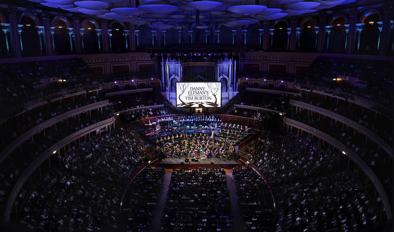 Danny Elfman's Music from the Films of Tim Burton | World Premiere at Royal Albert Hall, Photo Credit: Paul Sanders