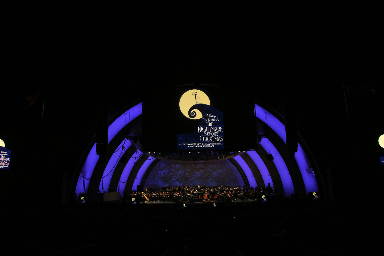 Tim Burton's The Nightmare Before Christmas In Concert Live to Film | Hollywood Bowl November 2016, Photo Credit: Randall Michaelson