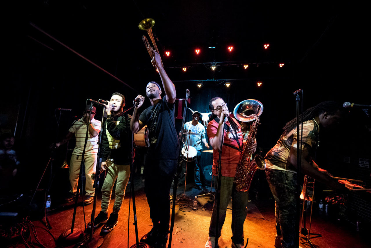 Rebirth Brass Band Live
