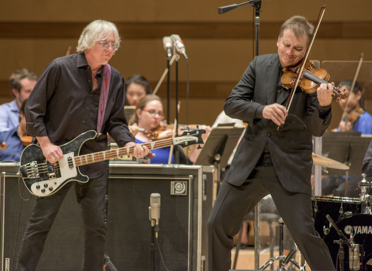 Concerto for Violin, Rock Band, and String Orchestra | Photo Credit: Alex Irvin