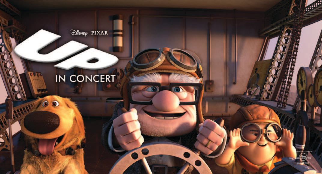 Disney Pixar Up In Concert