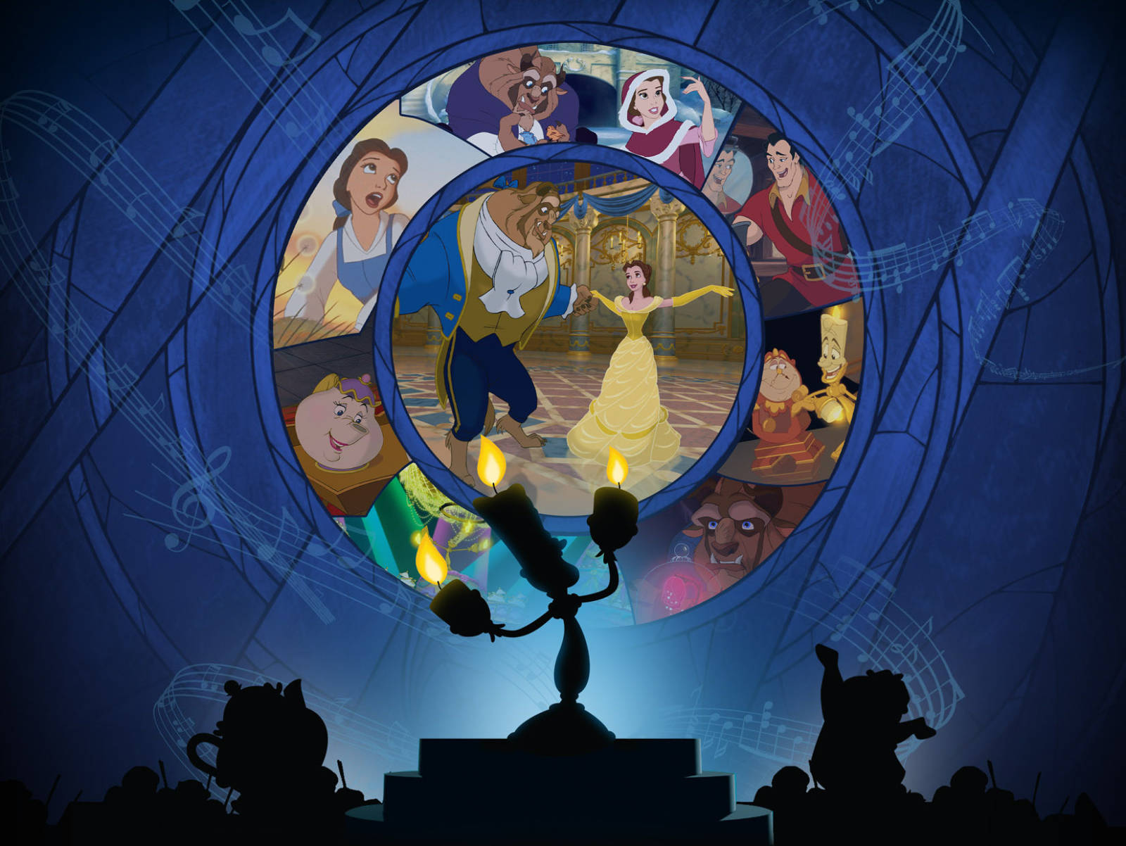 Disney in Concert: Beauty and the Beast (1991) - Live-To-Picture Concert Events