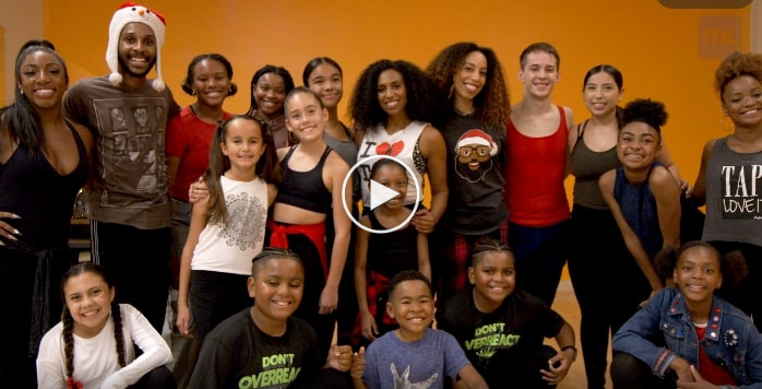 The Syncopated Ladies Tap Into the Holidays