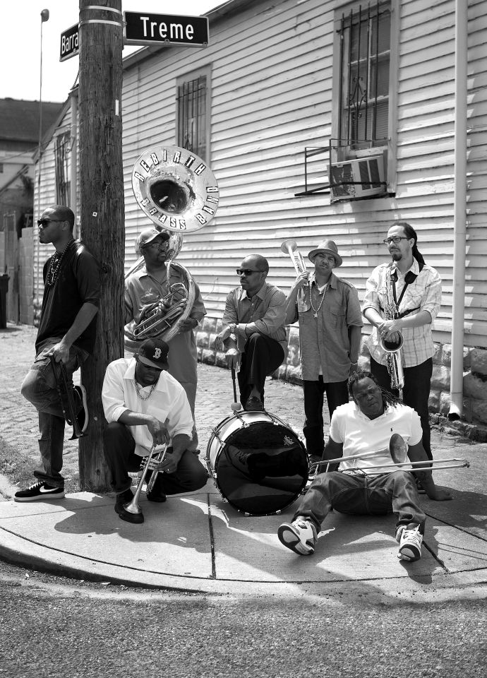 Rebirth Brass Band, photo credit Ian Frank