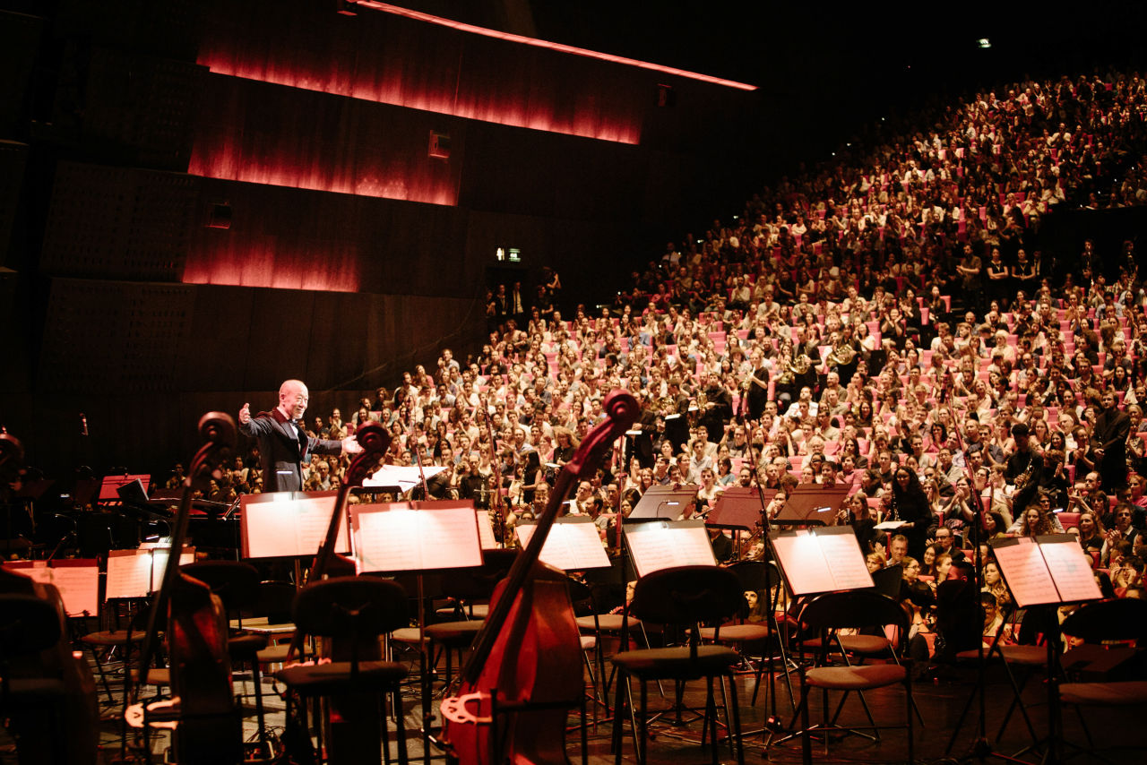 Joe Hisaishi | Hisaishi in Paris, Photo Credit: Charlie Lenormand