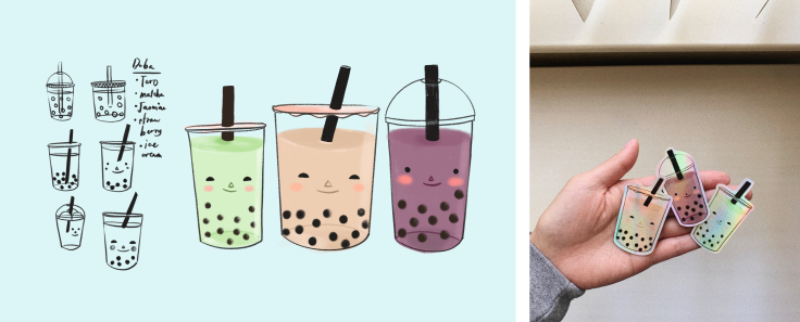 boba stickers