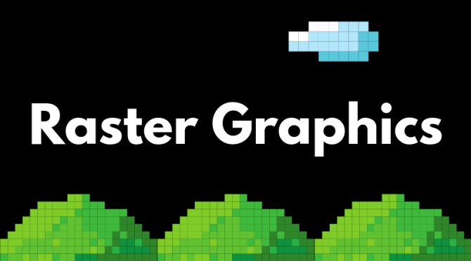 raster graphics cover