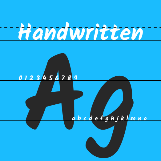 Cool handwriting fonts