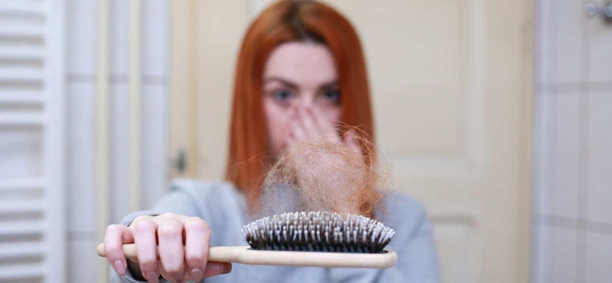 Włosy: wypadanie ciąża