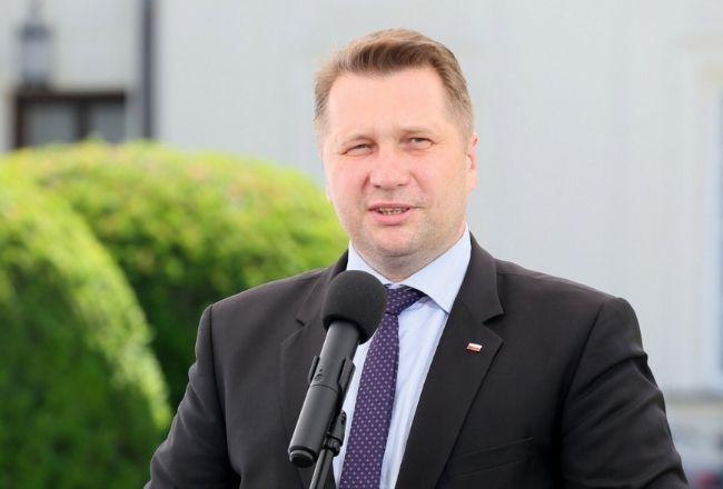 Minister edukacji Przemysław Czarnek / East News /  fot. Pawel Wodzynski