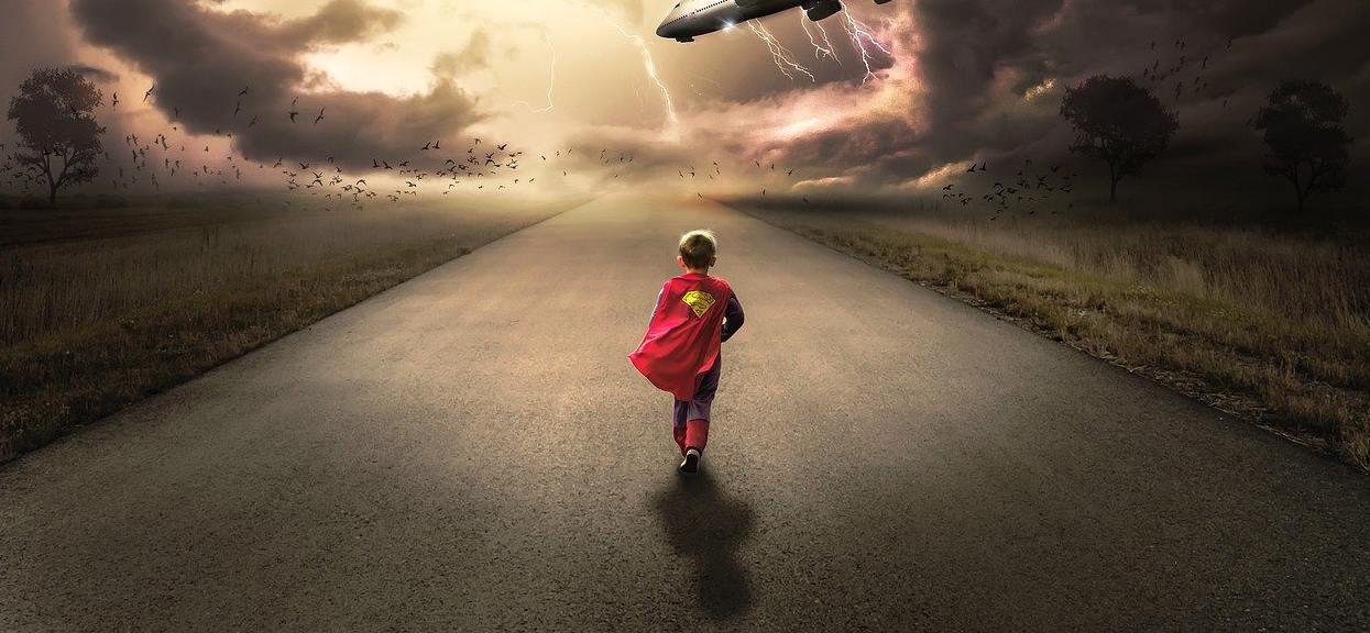 chłopczyk: bohater
