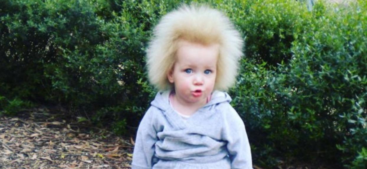Dziewczynka, włosy