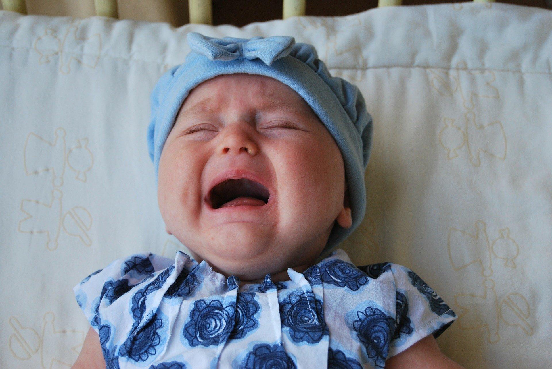 Objawy kolki u niemowląt