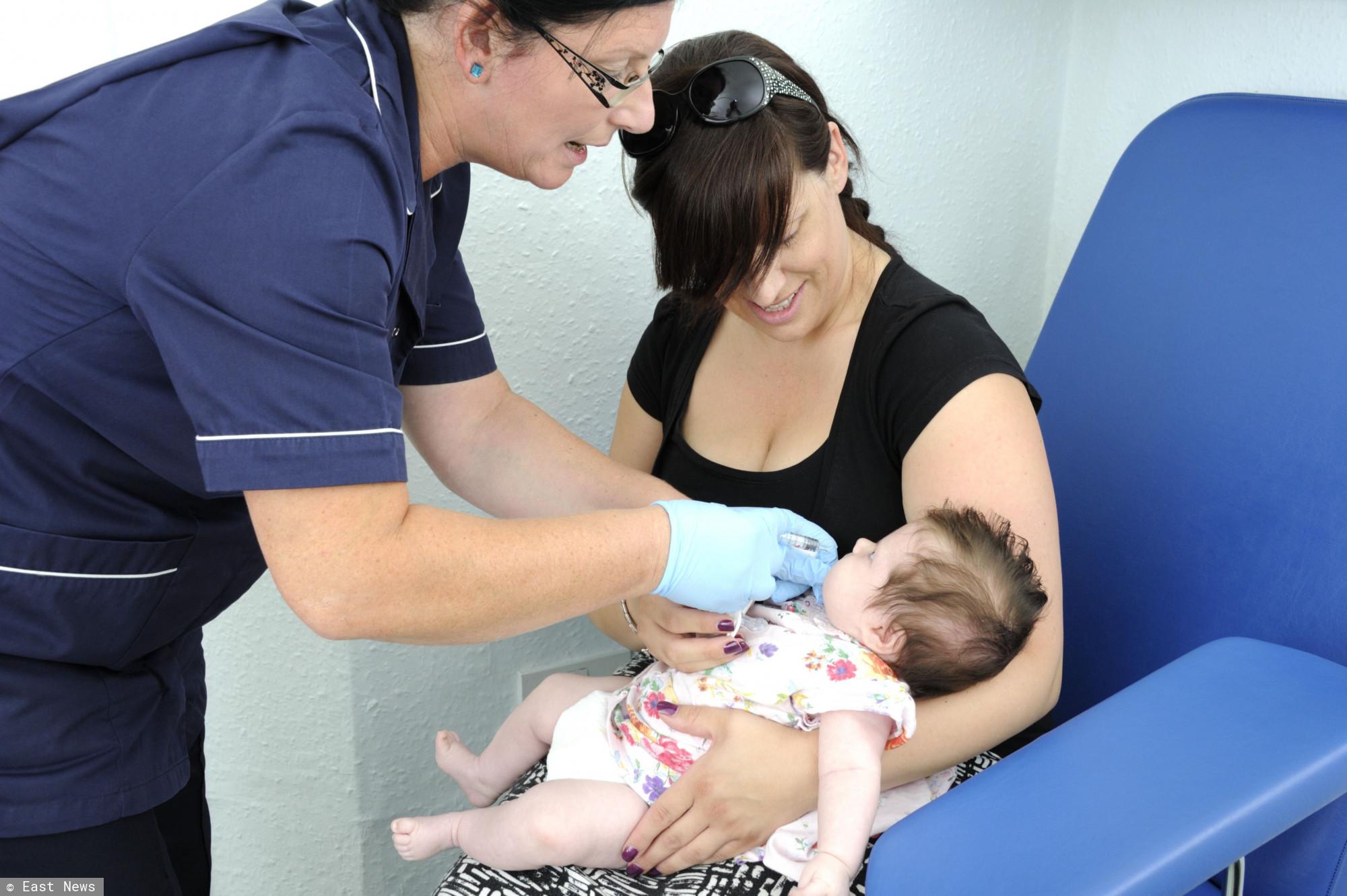dziecko - szczepienie