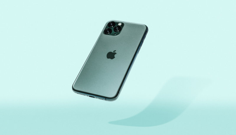 Floating iphone