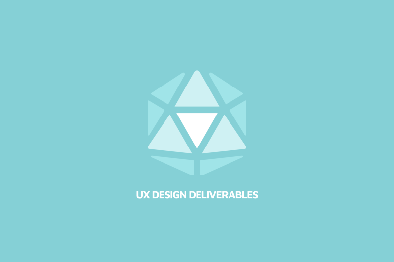 UX deliverables examples
