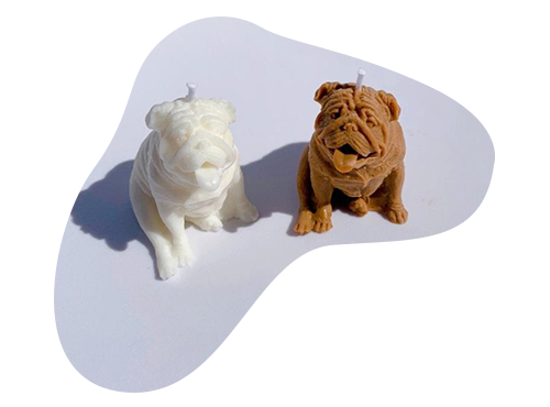 Bulldog Candles